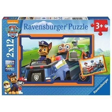 Ravensburger Ravensburger Puzzle 2-12 Parça Paw Patrol-2 Renkli